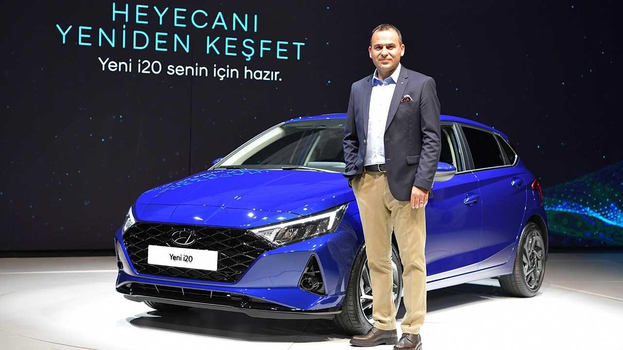 Türkiye'de Üretilen Hyundai Yeni i20 Geliyor