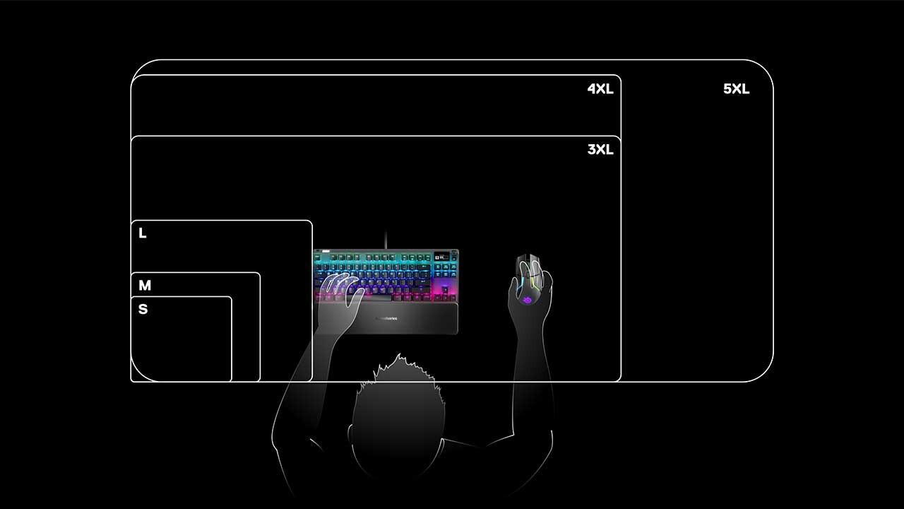 SteelSeries, QcK Mousepadlerini Tanıttı