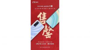 ZTE Axon 20 5G Satışın İlk Gününde Tamamen Tükendi
